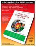 Le livre des Entretiens de Millançay 2008